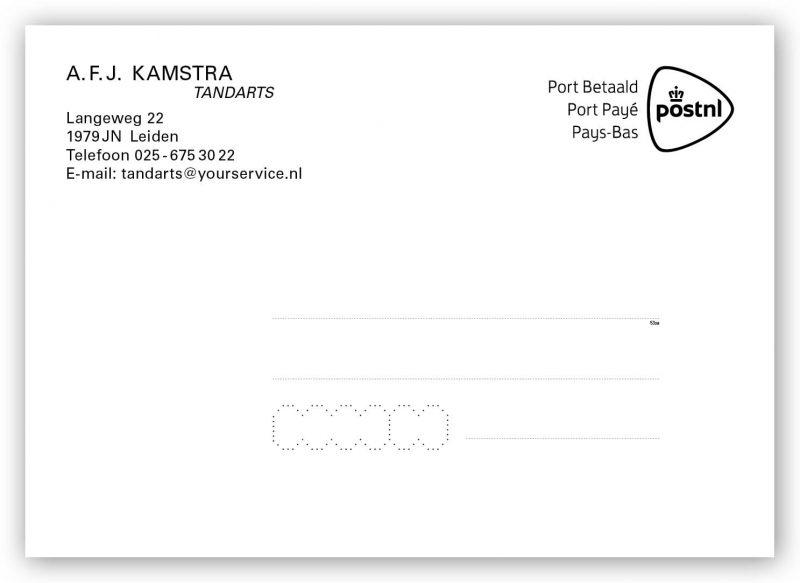 Tandarts berichtenkaart
