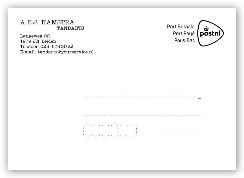 Berichtkaart tandartsen bestellen